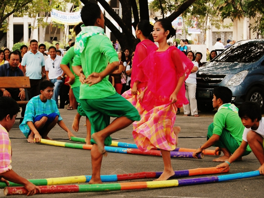 tinikling dance essay Tinikling the tinikling is a philippine dance which involves two individual performers hitting bamboo poles, using them to beat, tap, and slide on the ground, and against each other in co-ordination with one or more dancers who steps over, and in between poles.