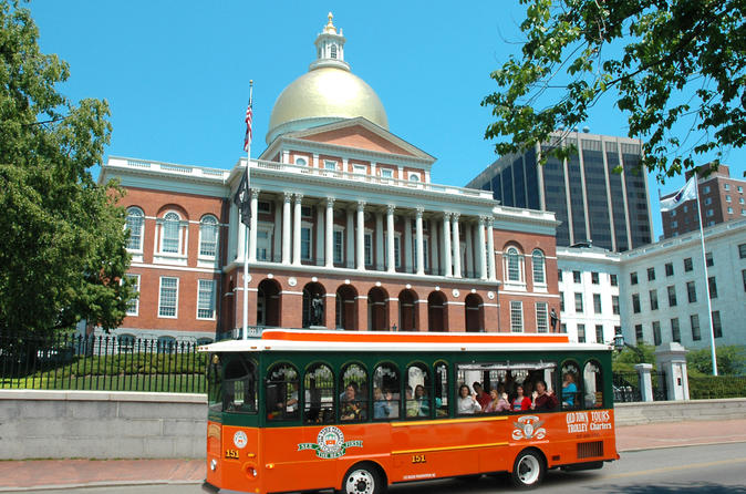 Boston Shore Excursion: Boston Hop-on Hop-off Trolley Tour